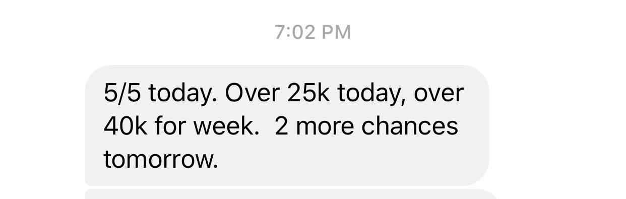 40k weekl